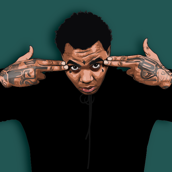 Kevin Gates Wallpaper: Kevin Gates Cartoon Pictures To Pin On Pinterest